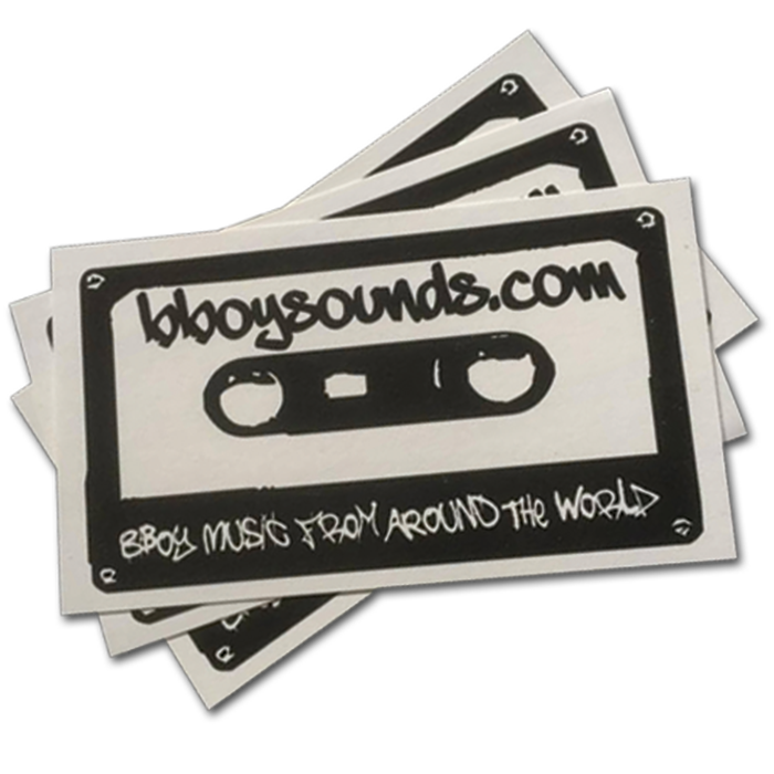 Bboysounds Stickers